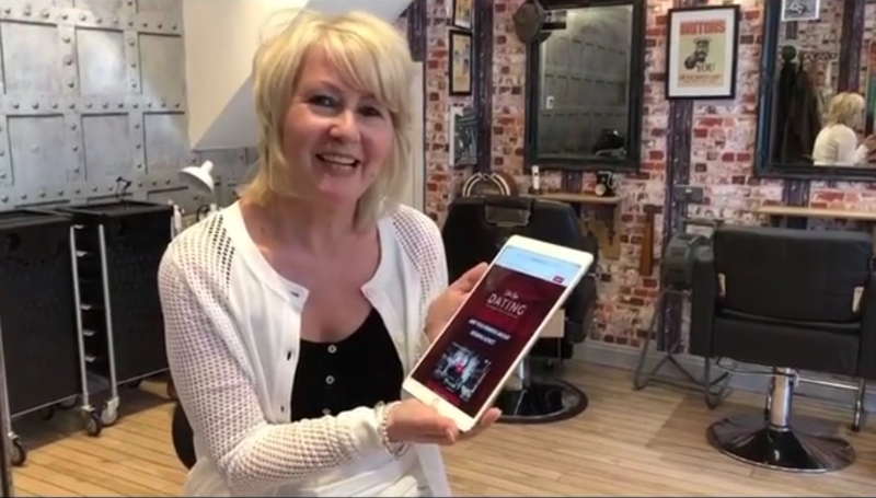 Surrey Live –  hairdresser launches dating site to encourage 'old style' romance