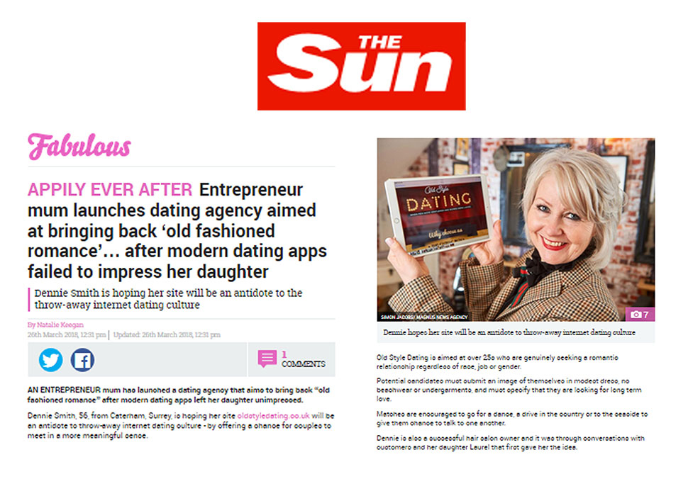 Read about us in The Sun