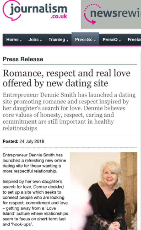 Old Style Dating featured in journalism.co.uk
