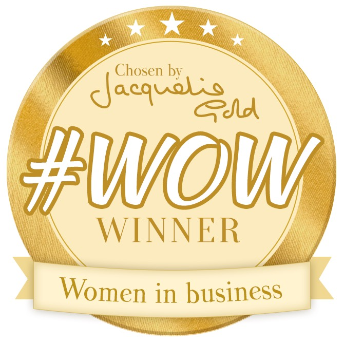 Old Style Dating chosen Women in Business winner by Jacqueline Gold