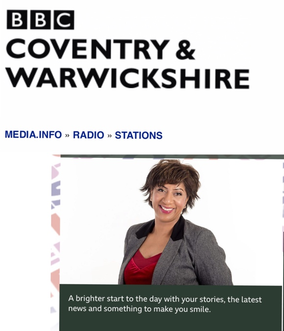 BBC Coventry & Warwickshire with Trish Adudu