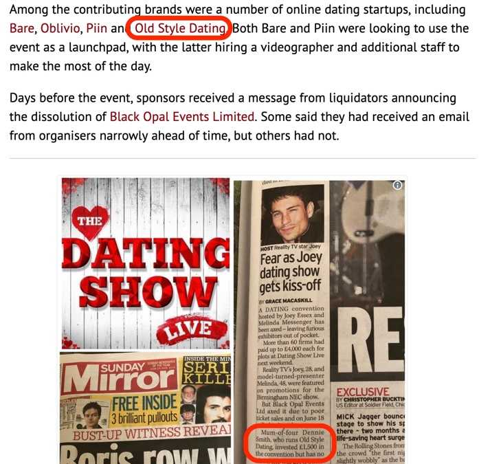 Startups Left Out of Pocket as 'The Dating Show Live' Collapses – GDI