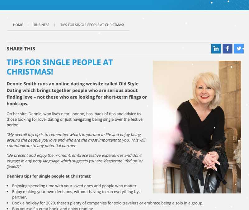 Total Guide – TIPS FOR SINGLE PEOPLE AT CHRISTMAS!